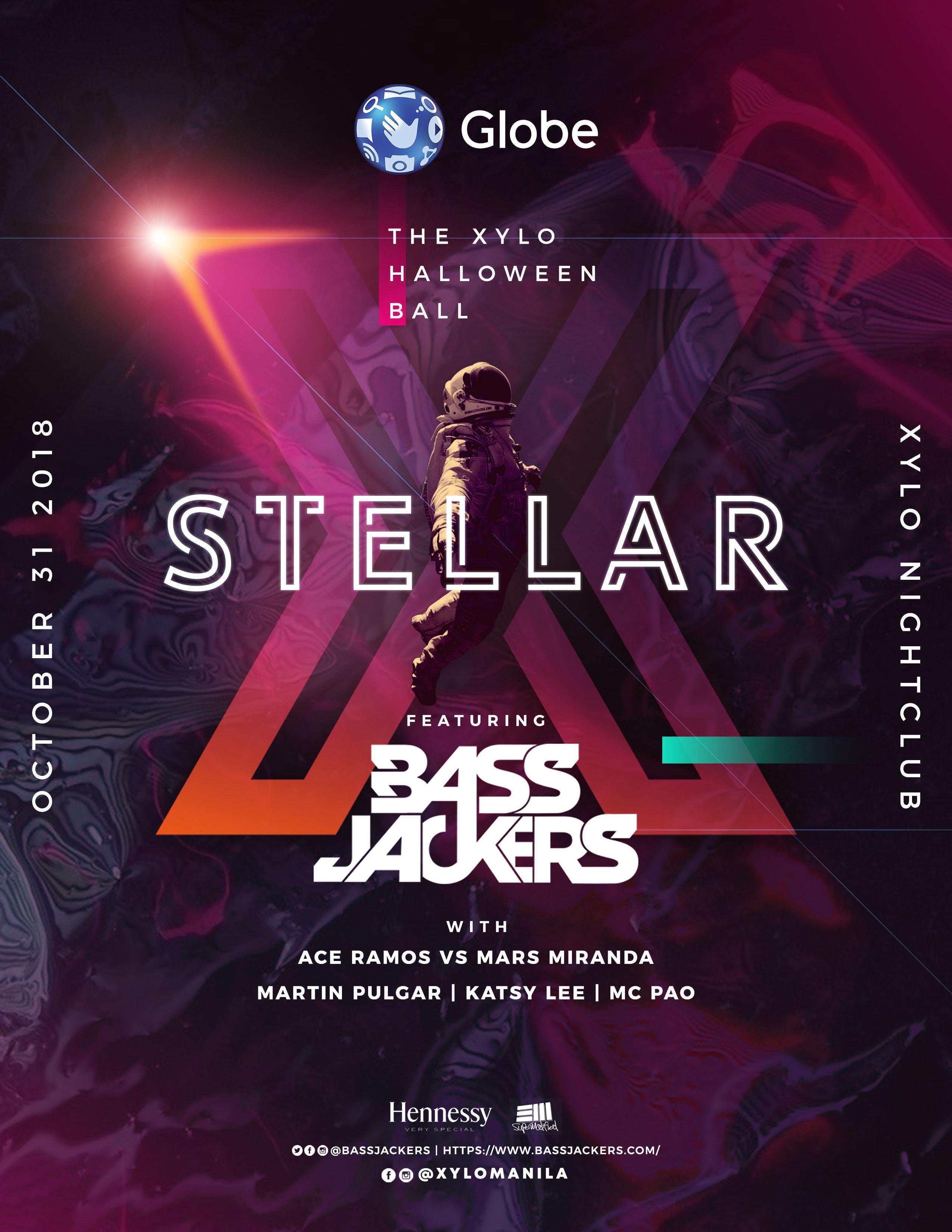 STELLAR - Xylo Nightclub Halloween Ball with Bassjackers