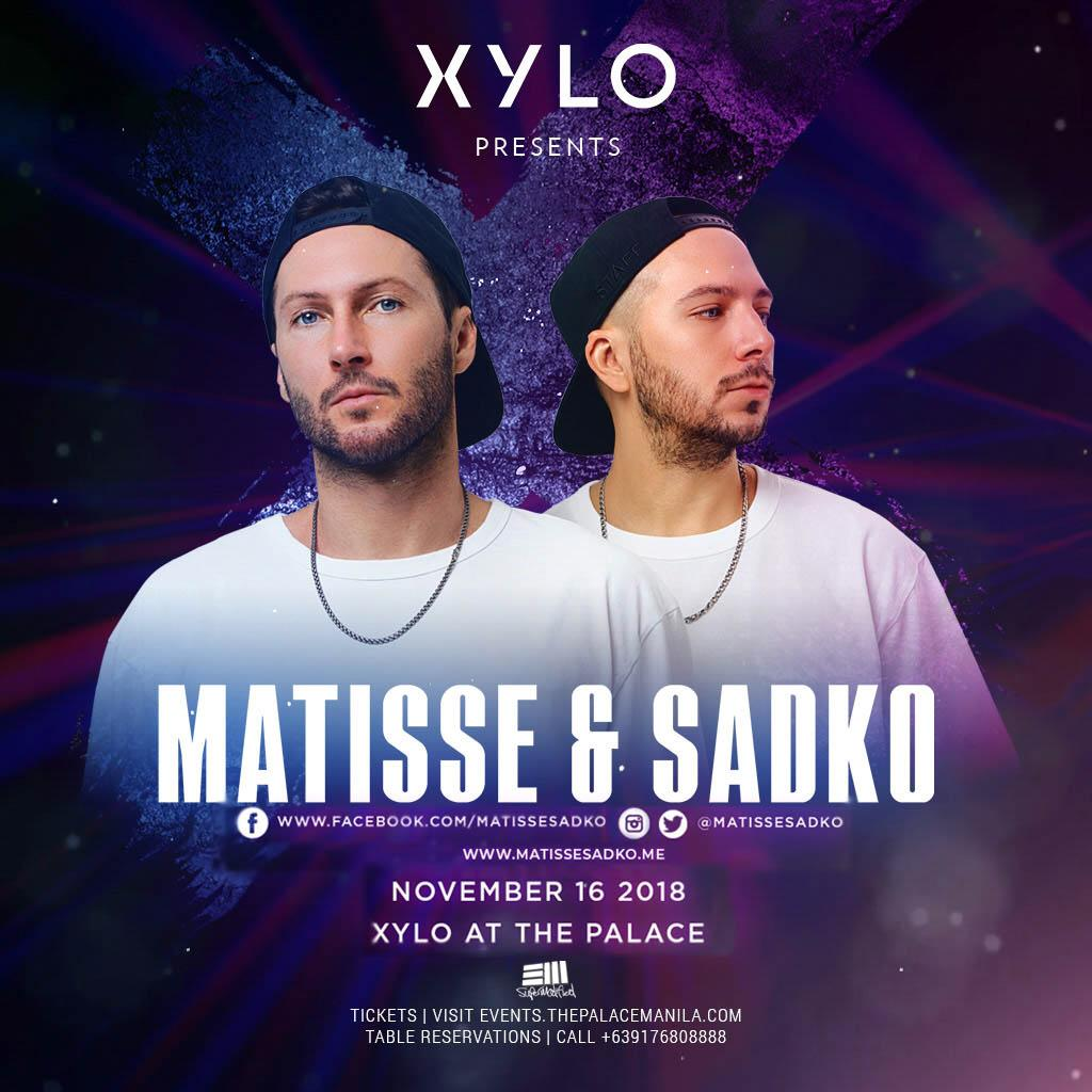 Matisse and Sadko at XYLO Nightclub