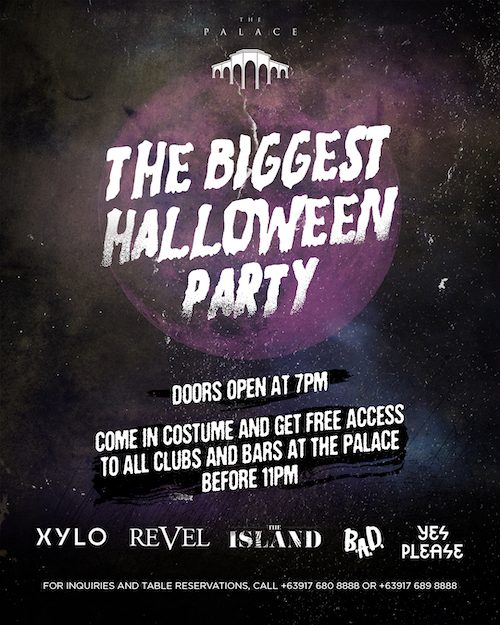 The Palace Halloween Party