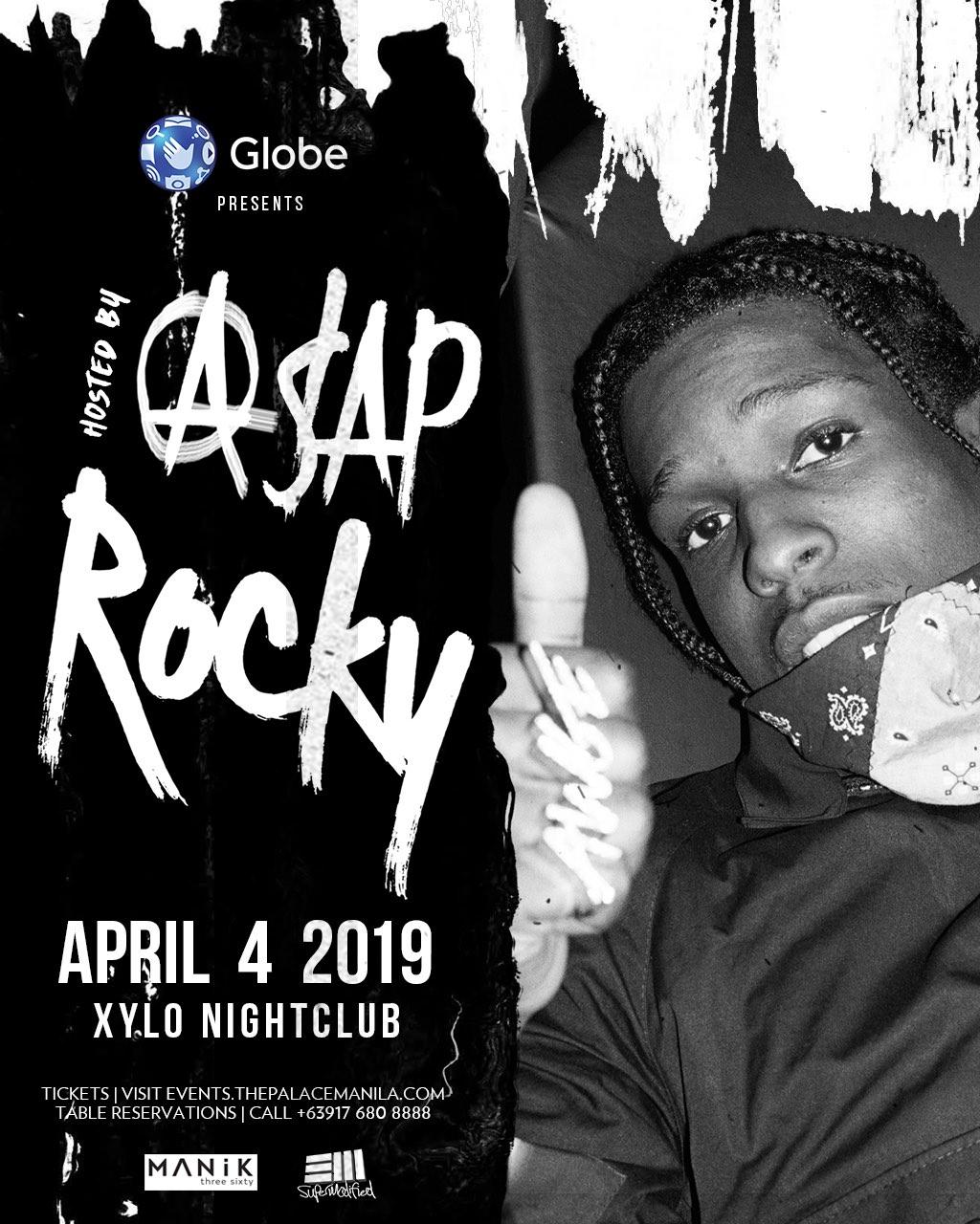 A$AP ROCKY at XYLO Nightclub