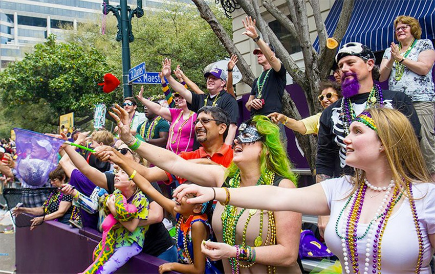 Tucson Mardi Gras Festival - Saturday - February 22