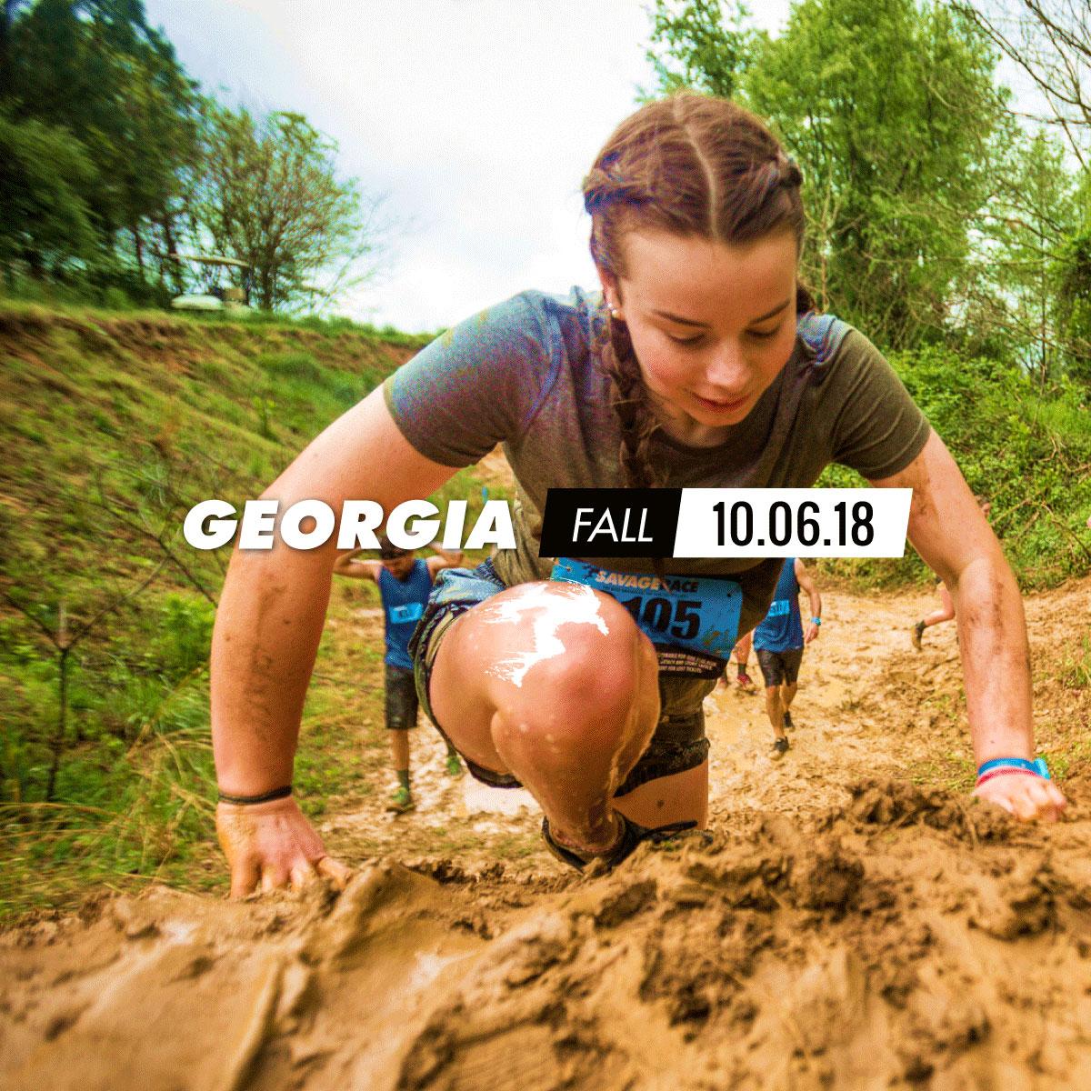 Savage Race Georgia Fall 2018