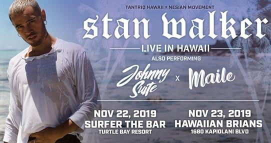 Stan Walker at Hawaiian Brians