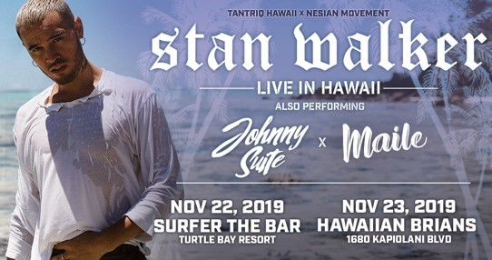 Stan Walker at Surfer: The Bar