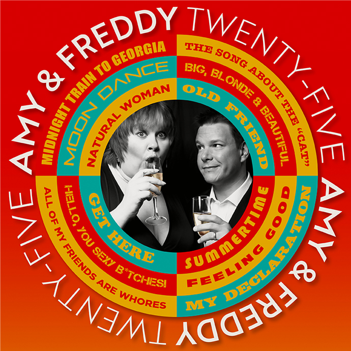 Amy & Freddy Celebrating 25 Years - 9:00PM - 03/09/2020