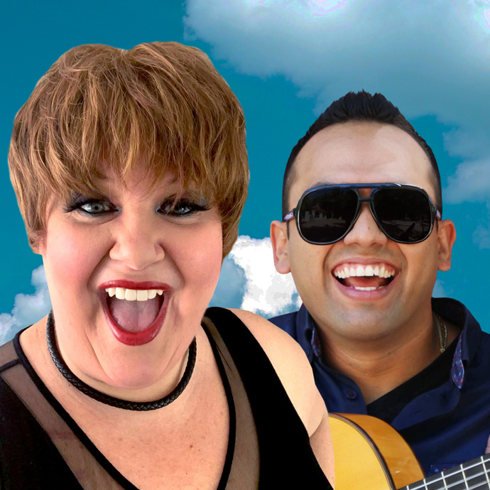 Amy Armstrong & Fernando Gonzales (Piel Canela) - IMAGINE the amazing music of the Beatles - 7:30PM - 04/10/2020