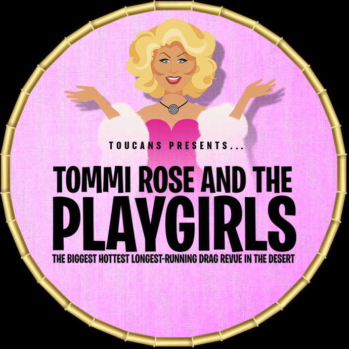 07/25/2021 - 8:00PM - Sunday 'Tommi Rose and the Playgirls' - Hosted by Tommi Rose