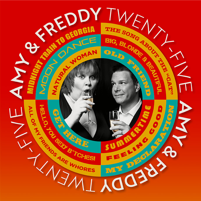 Amy & Freddy - Celebrating 25 Years - 7:30PM - 09/04/2020