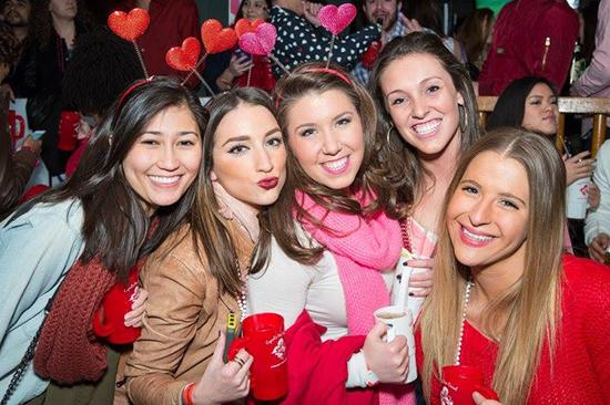 Cupid's Crawl Mega Bar Party