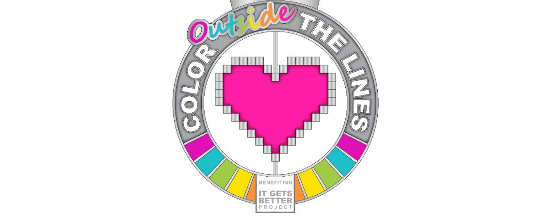 Color Outside the Lines Virtual 5K - June 2021