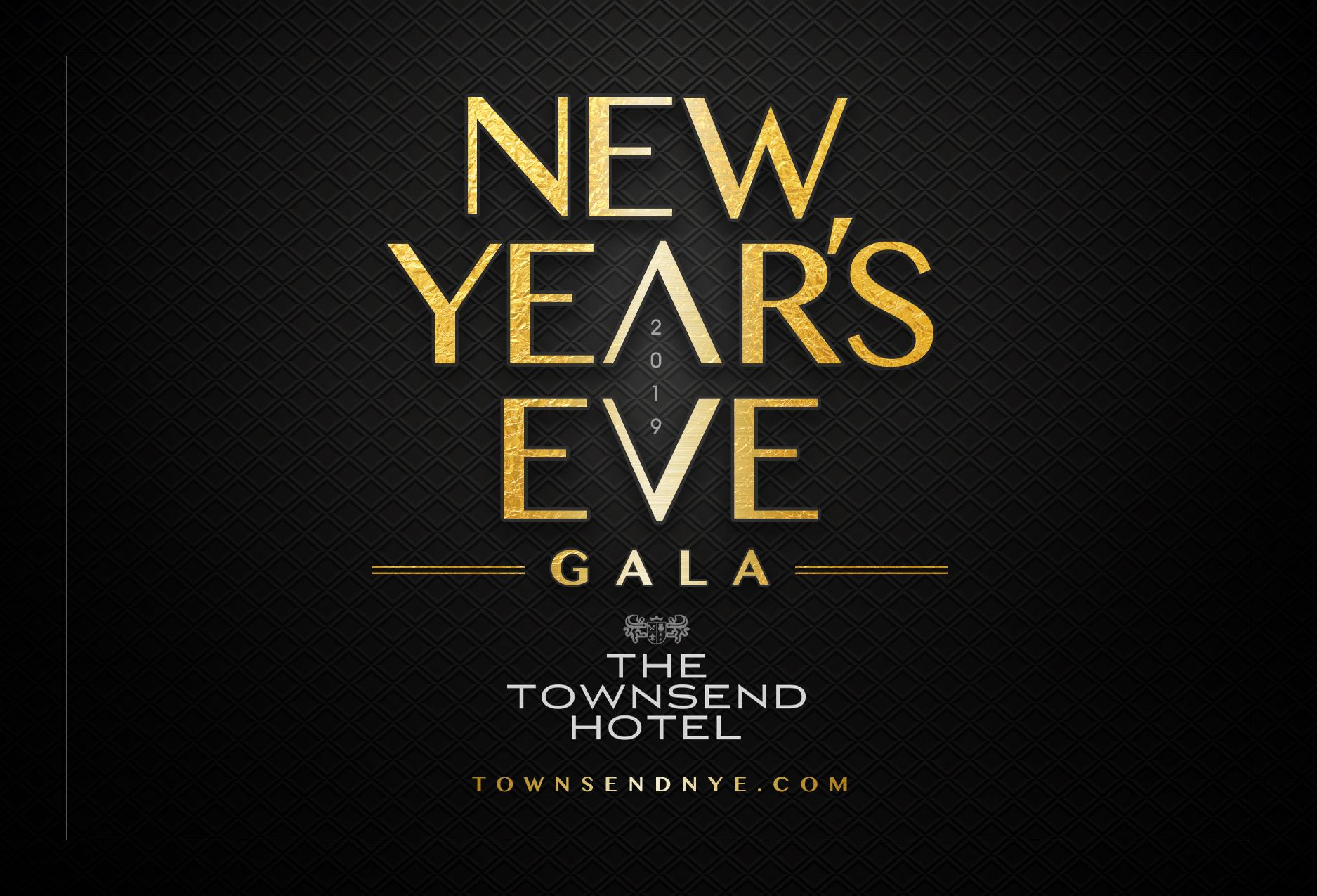 New Year's Eve Gala at The Townsend Hotel