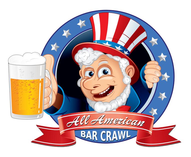 All American Bar Crawl 2015