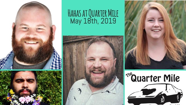 Comedy at Quarter Mile Grill May 18