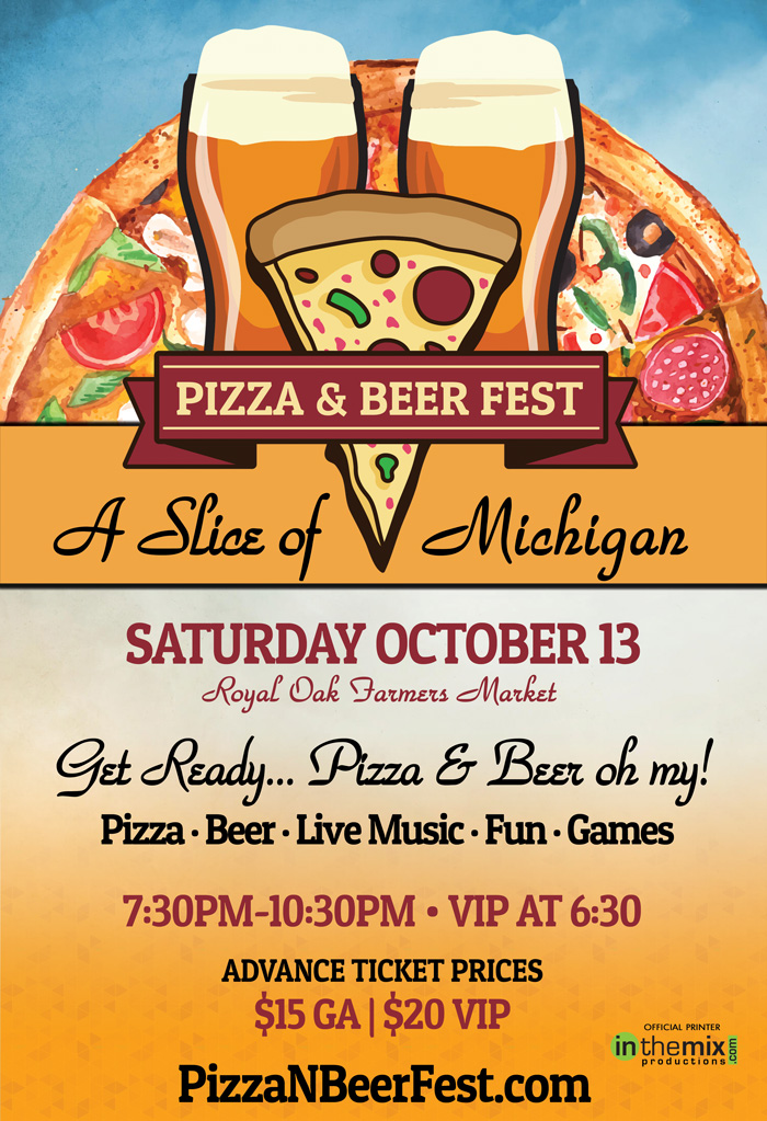 Pizza N Brews 2018 - Royal Oak