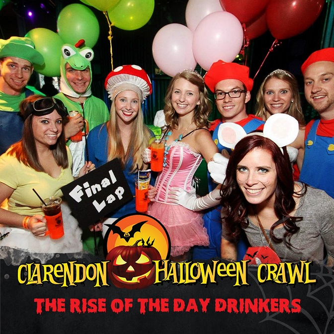 The Clarendon Halloween Crawl 2017
