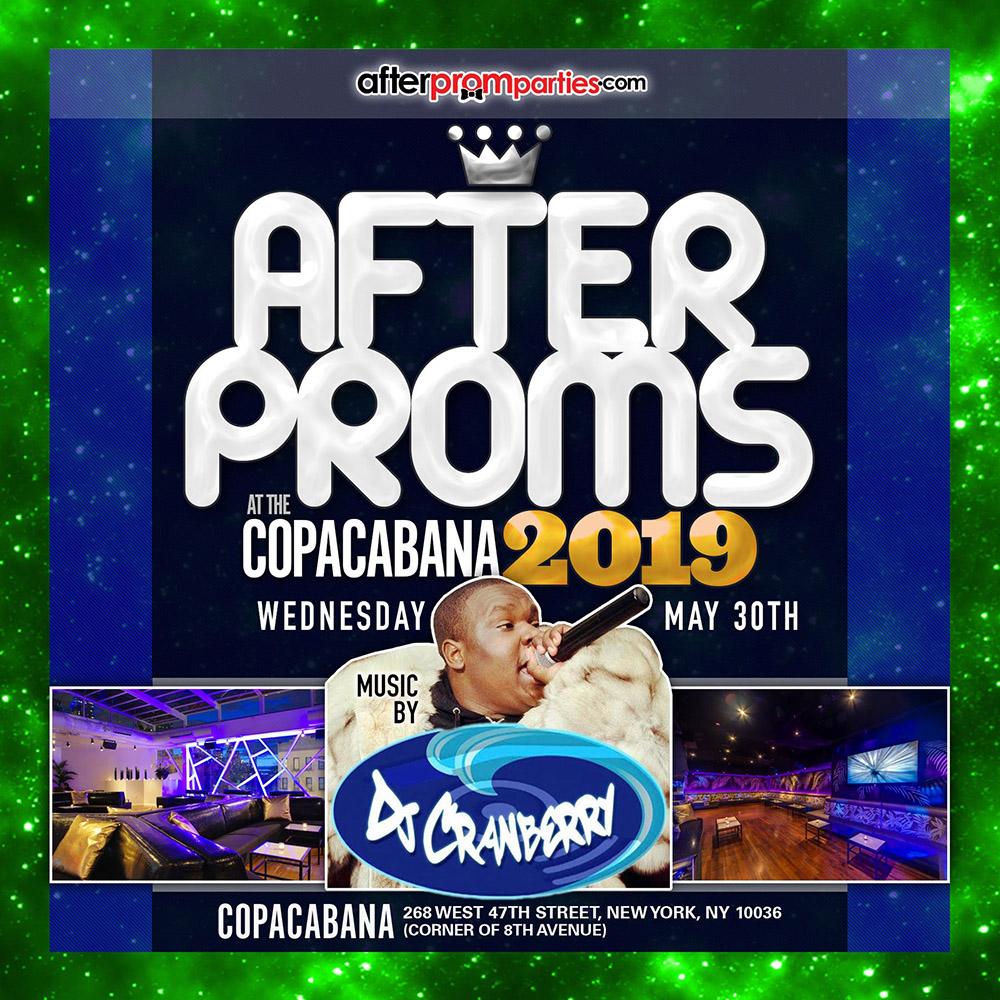 Copacabana After Proms 5-30-19