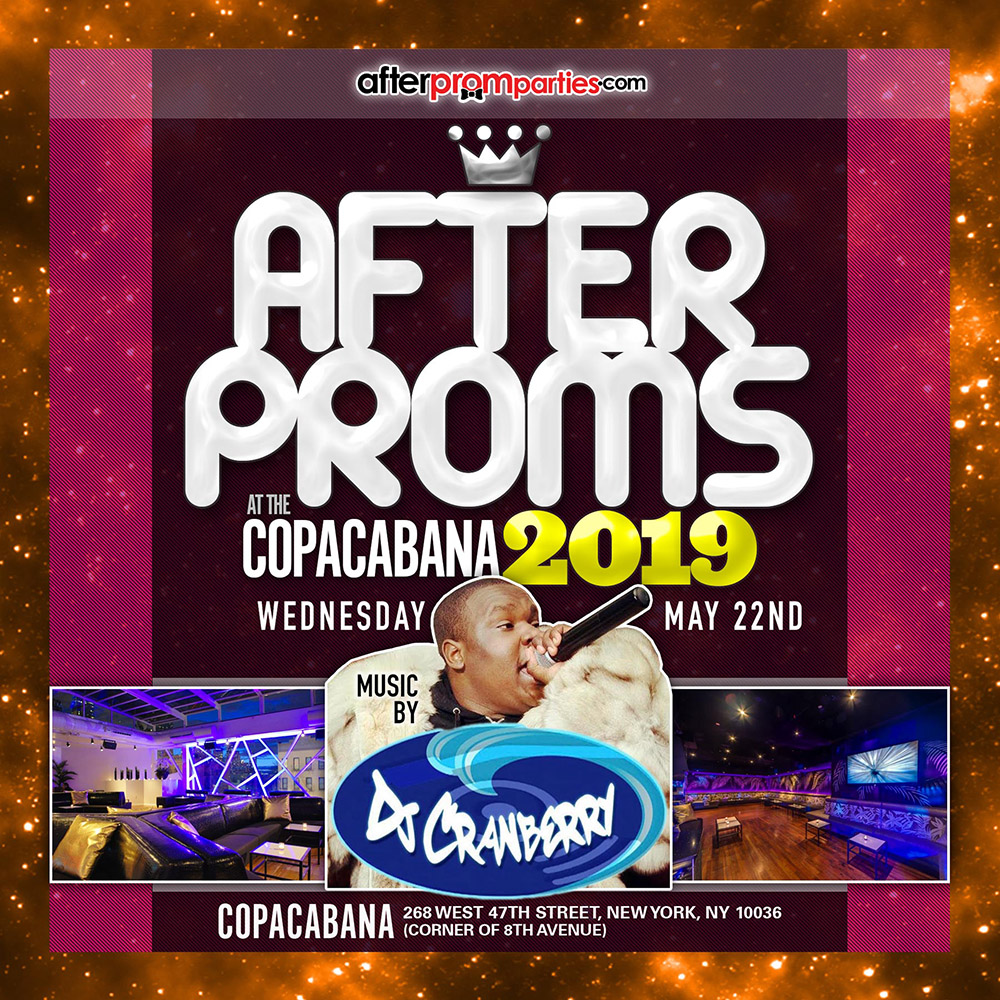 Copacabana After Proms 5-22-19