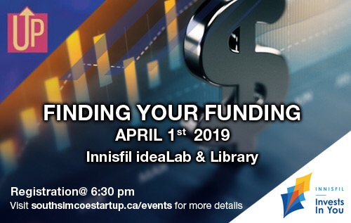 Finding Your Funding Proudly Sponsored By Town of Innisfil