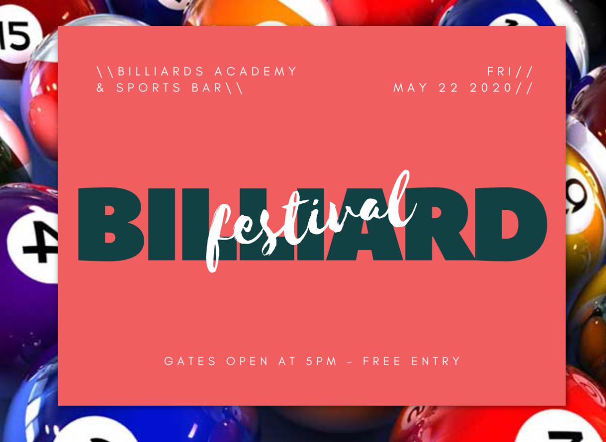 Billiard Festival