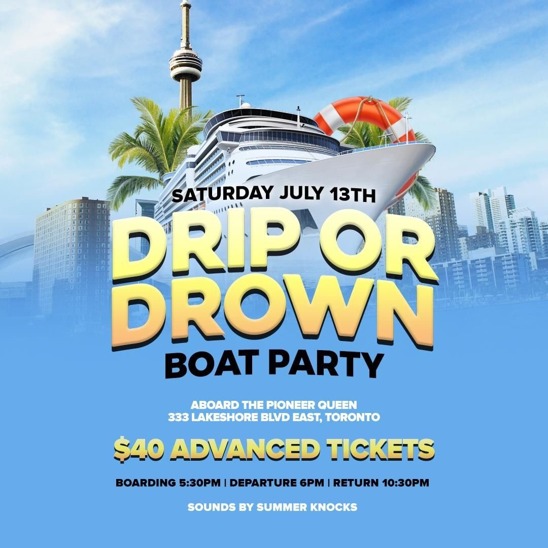 Drip or Drown Boat Party