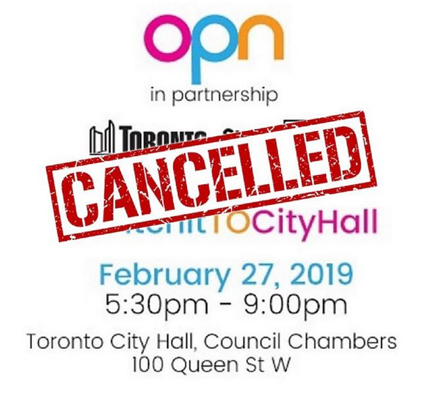 PitchItTOCityHall - CANCELLED