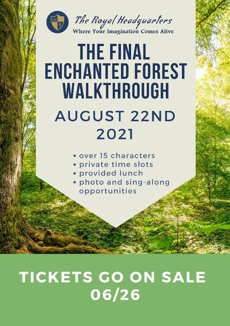 THE FINAL ENCHANTED FOREST WALKTHROUGH