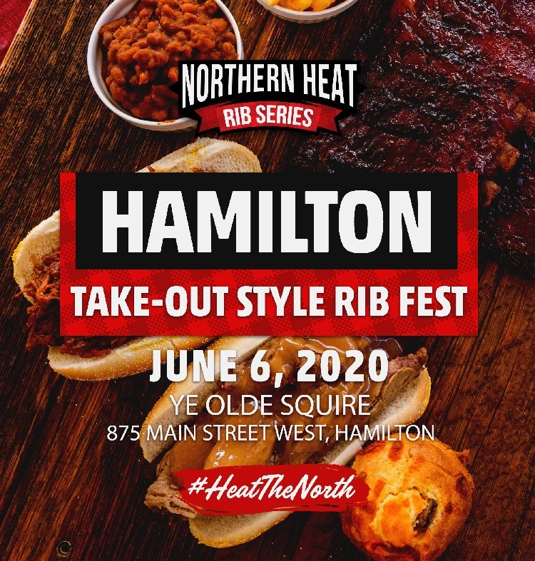 HAMILTON TAKE-OUT STYLE RIB FEST - JUNE 6