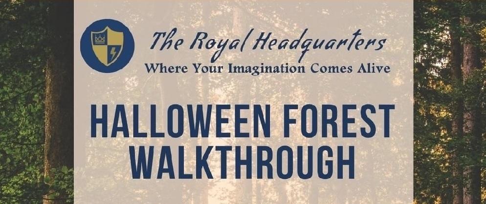Halloween Forest Walkthrough