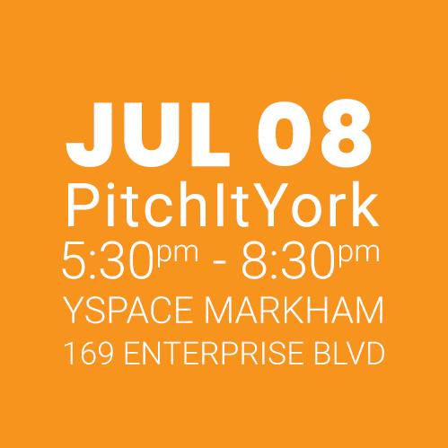#PitchItYork YSpace JULY 08