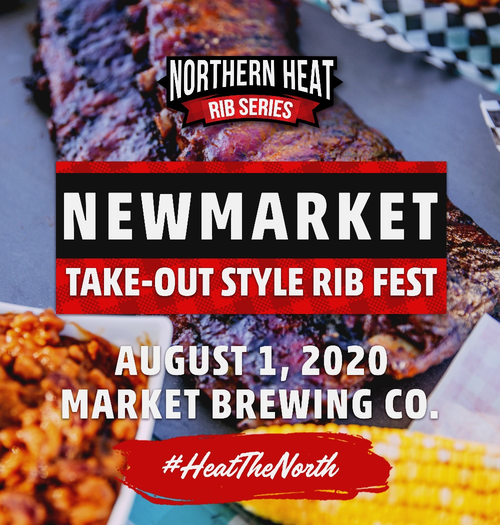 NEWMARKET TAKE-OUT STYLE RIB FEST - AUGUST 1ST