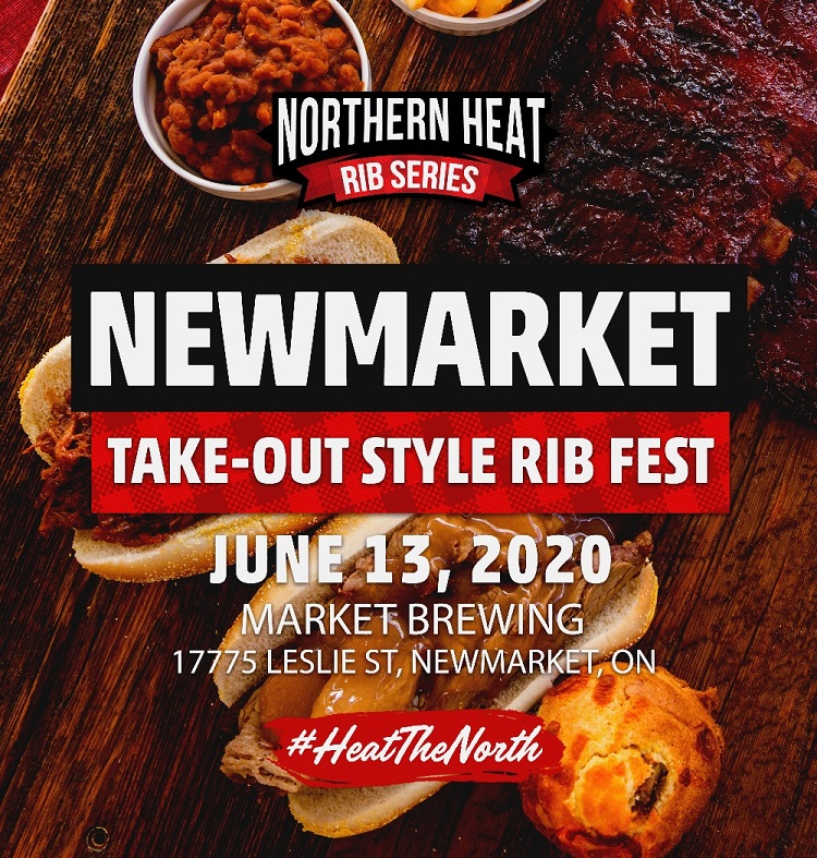 NEWMARKET TAKE-OUT STYLE RIB FEST - JUNE 13