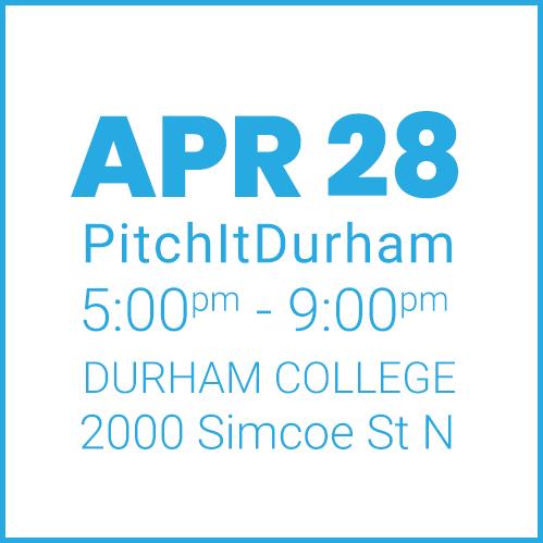 #PitchItDurham APR 28