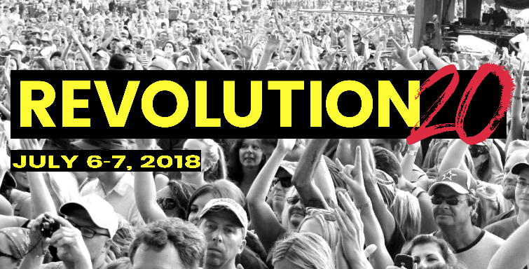 Revolution 20 - Dates TBD