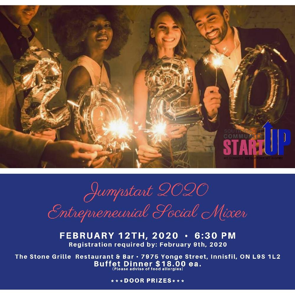Jumpstart 2020 Entrepreneurial Social Mixer
