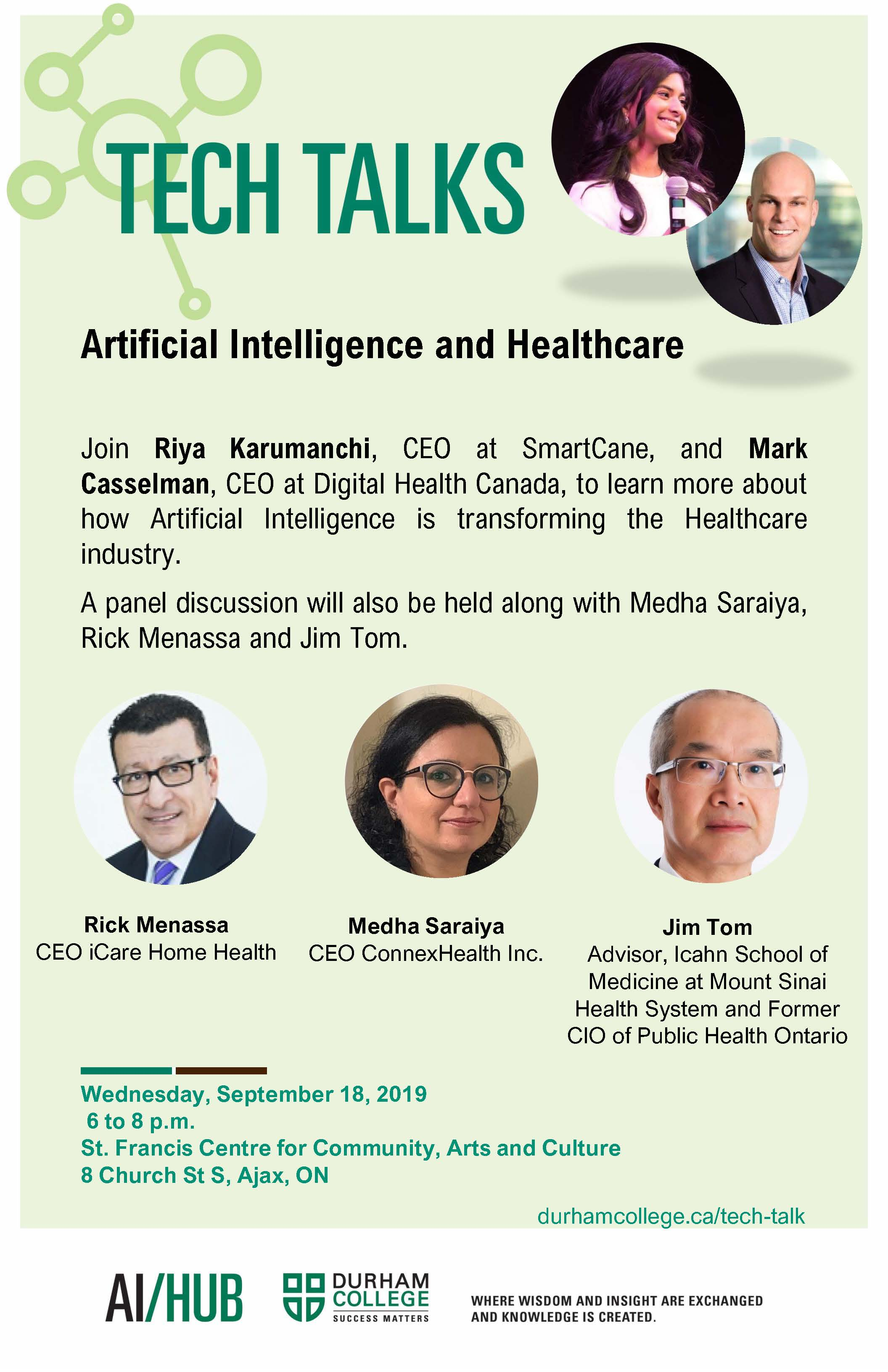 #TechTalksDC : Artificial Intelligence and Healthcare