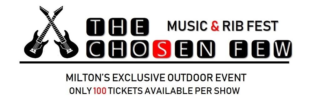 THE CHOSEN FEW MUSIC & RIBFEST SEPT 12