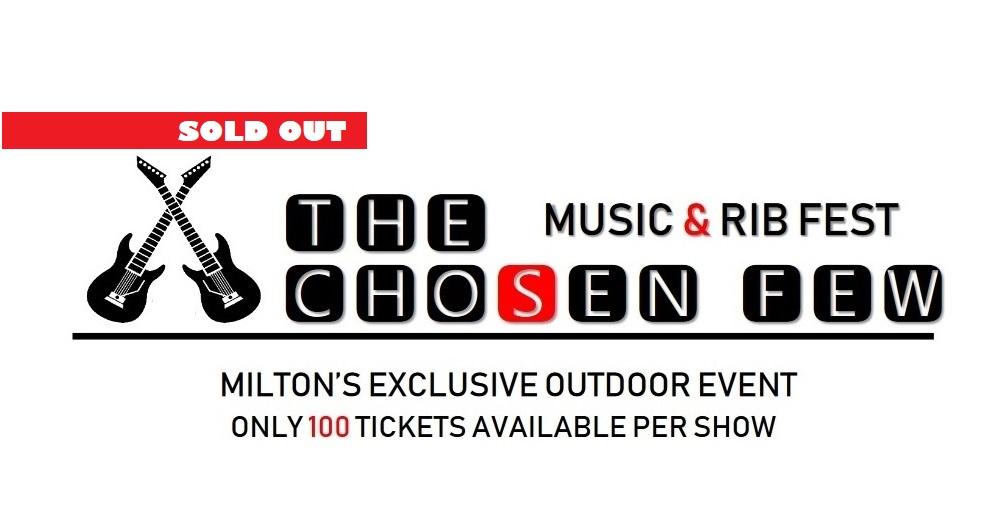 THE CHOSEN FEW MUSIC & RIBFEST SEPT 26