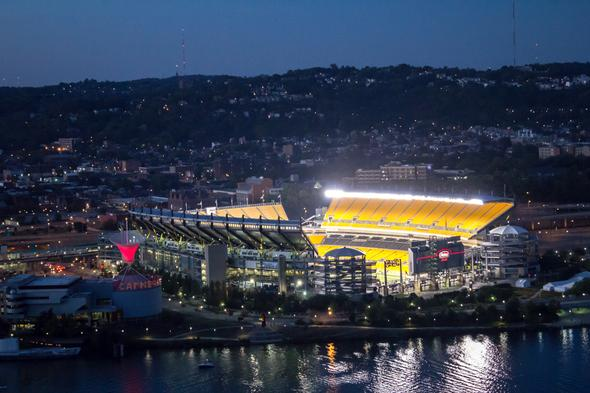 Pittsburgh Steelers vs New England Patriots Travel Package