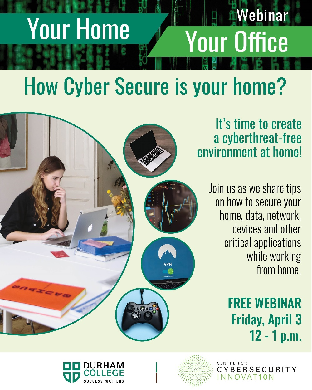 Webinar:  How Cyber Secure is your home?