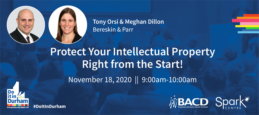 IP Workshop-Protect Your Intellectual Property Right from the Start-Nov 18