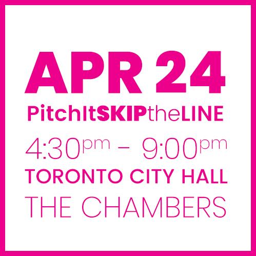 #PitchIt-SKIPtheLINE