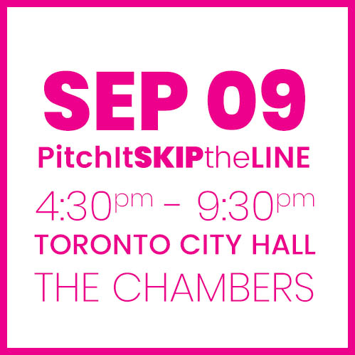 #PitchIt-SKIPtheLINE SEPT 9
