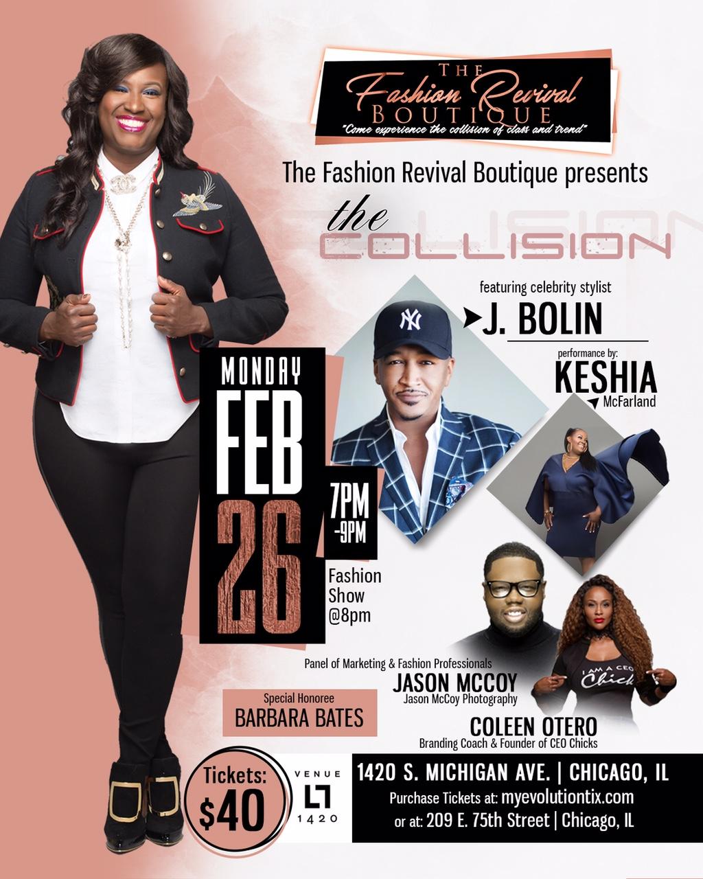 The Collision Fashion Show