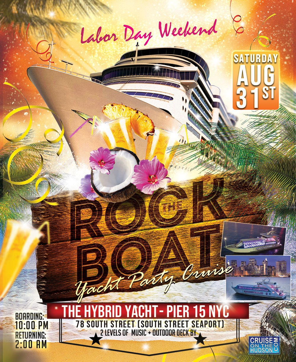 End of Summer Rock the Boat Party NYC