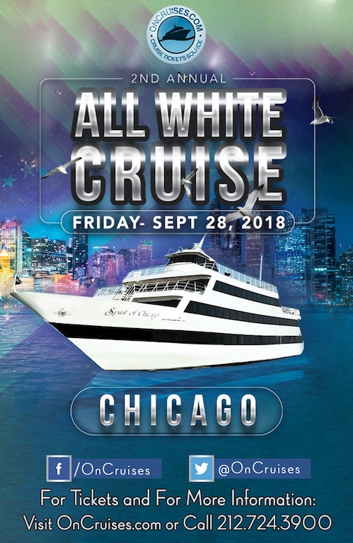 Sabor on the Lake: The 2nd All White Cruise Aboard the Spirit of Chicago