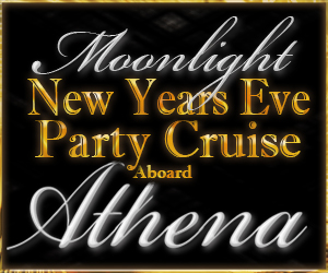 Moonlight New Year's Eve Party Cruise Aboard the Athena Yacht