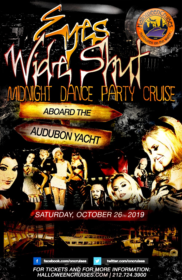 Eyes Wide Shut Midnight Dance Party Cruise Aboard the Audubon Yacht