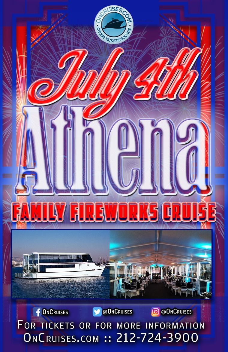 July 4th Family Fireworks Cruise Aboard the Athena