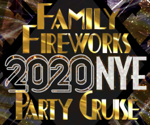 Family Fireworks 2020 NYE Party Cruise Aboard The Audubon Yacht