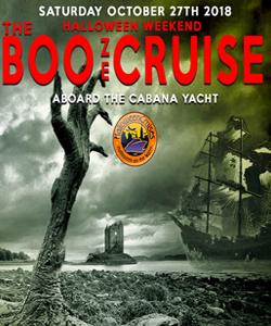 The Halloween Weekend BOOze Cruise Aboard the Cabana Yacht